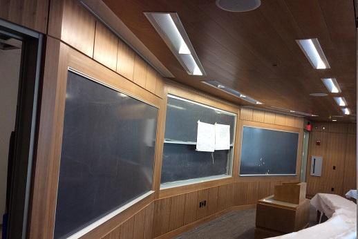 General Contractor Installing Wood Ceilings - K&K Acoustical ...